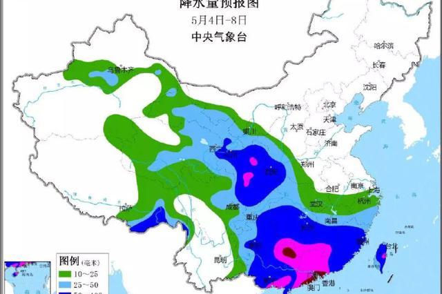23日江苏气温将飙升至33℃ 周末再迎暴雨