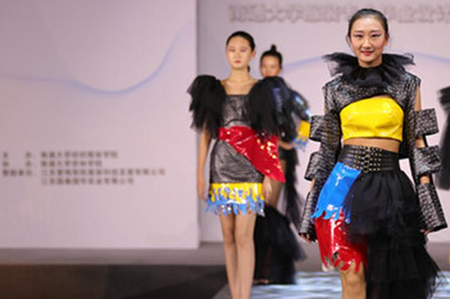 """视觉盛宴!南通大学服装展演秀出时尚""""范儿"""""""