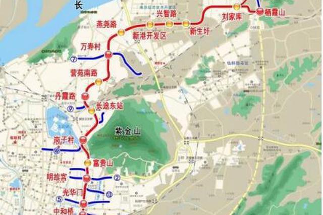 南京地铁6号线与机场线相连 还有6条线路有新进展