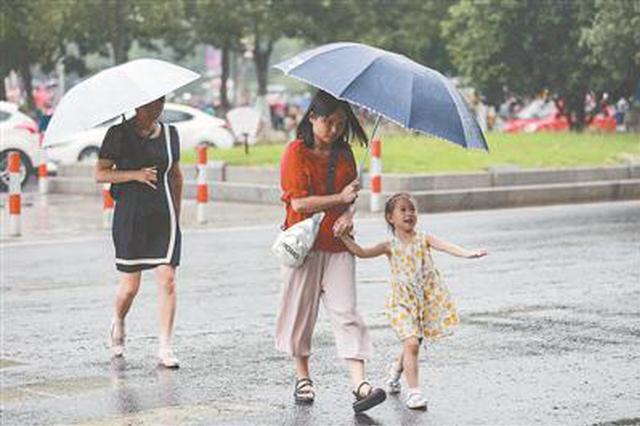 6月18日江苏入梅将有三次明显降水过程