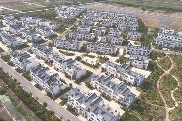 江苏阜宁风灾3周年 航拍灾后重建村庄