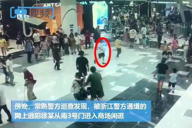 """商场开业逃犯凑热闹 民警从数万人中将其""""秒抓"""""""