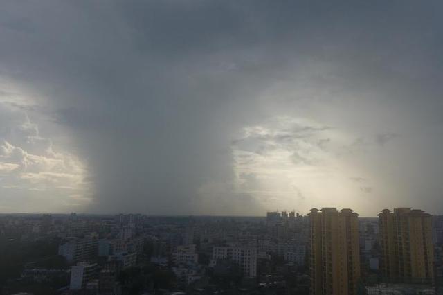 """台风""""木恩""""影响南京吗?气象台:不存在的"""