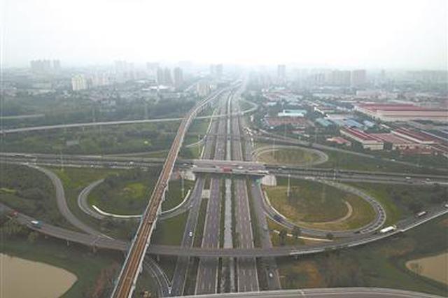 南京江北大道快速化改造完工 从主城到六合可省20分钟