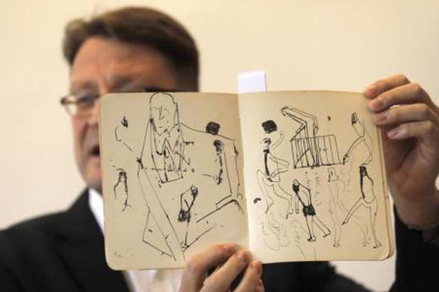 以色列国家图书馆展示罕见卡夫卡手稿