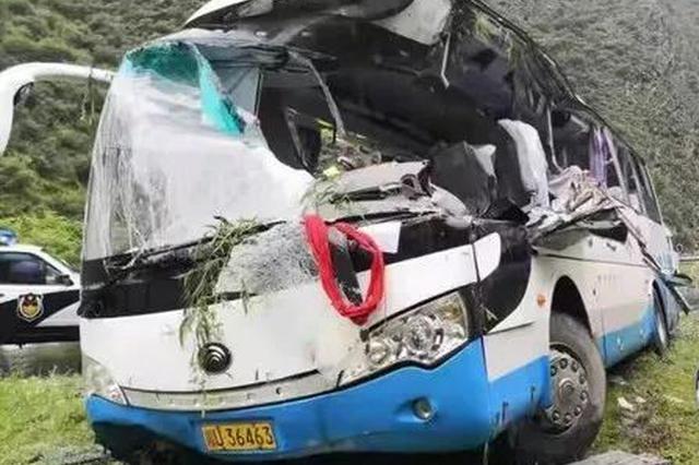 山西大同一大巴车失控冲撞行人 致4死6伤