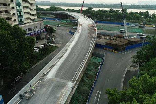 明天零点 草场门匝道桥开始拆除