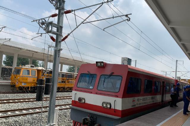 徐宿淮盐铁路进入静态验收阶段 预计12月15日具备开通条件