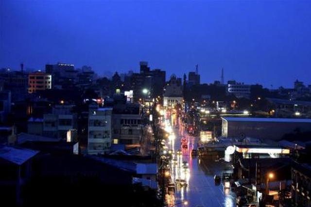 """""""白鹿""""台风中心登陆台湾后出海 已致2人受伤"""