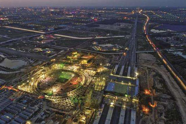 江苏首个铁路土地综合开发项目落地淮安 推进站城融合