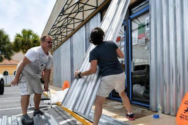 """强制撤离!飓风""""多里安""""逼近美国本土 多州严阵以待"""