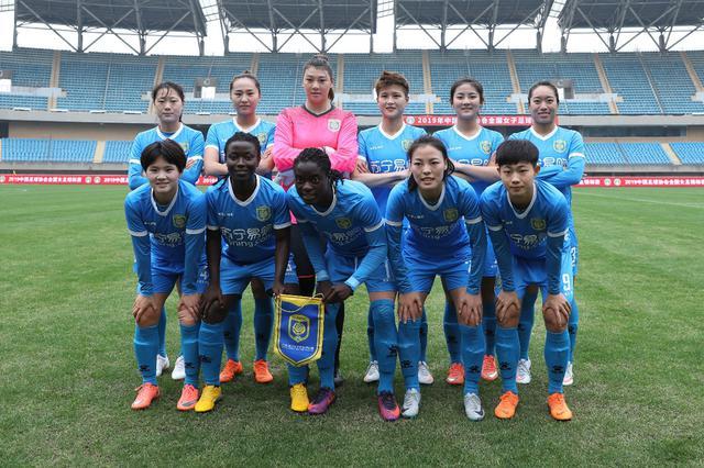 江苏苏宁女足提前2轮夺得2019女超联赛冠军