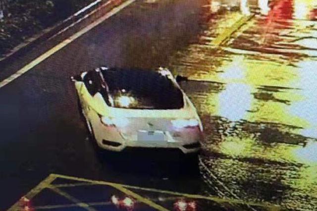 女环卫工清晨遭撞后肇事车逃逸 肇事司机被警方抓获