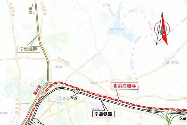宁淮铁路今天开工 未来南京1.5小时直达苏北