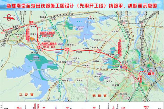 """宁淮城际铁路开工建设 苏北至南京""""1.5小时交通圈"""""""