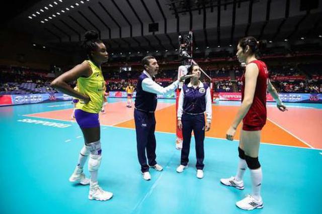 艰难击败巴西拿下6连胜 中国女排将直面夺冠对手美国队