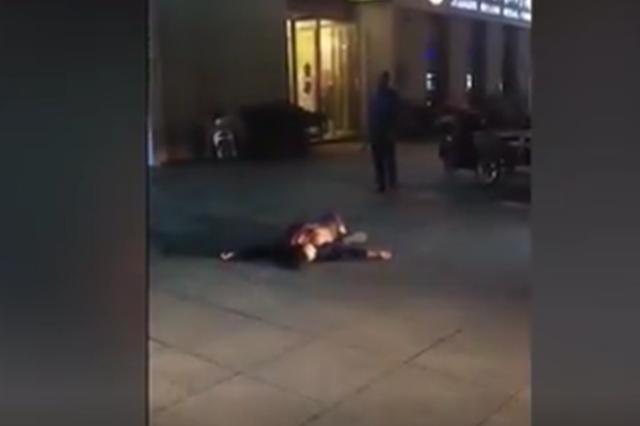男子当街持刀行凶 泗阳警方发布通报