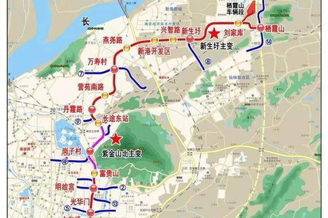 南京地铁6号线有望年内开工