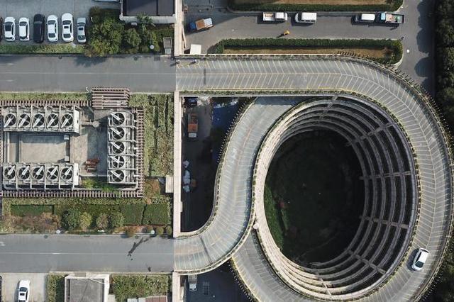 楼顶停车场走红网络