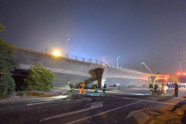 交通运输部:无锡桥梁侧翻事故初步分析系严重超载所致