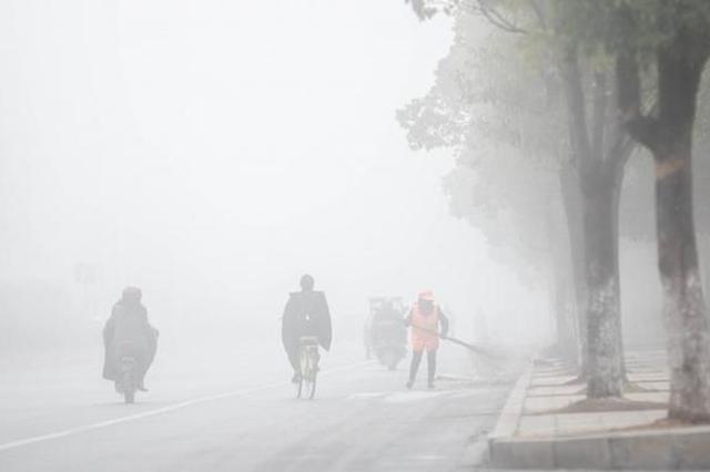 江苏重污染天气升至橙色预警 两地空气质量短时达重度污染