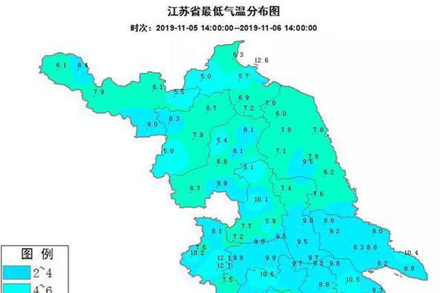 10月江苏这些地方雨量历史同期第二少 今日南部地区有雨