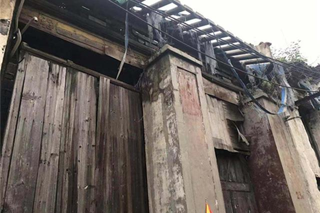 文保、画家刘海粟家族宗祠被指修缮烂尾:濒临倒塌