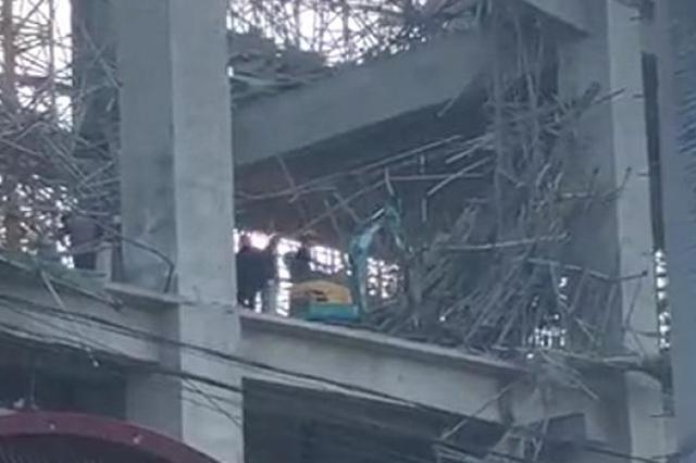 徐州水泥厂坍塌事故救援结束 失踪的一名工人已死亡