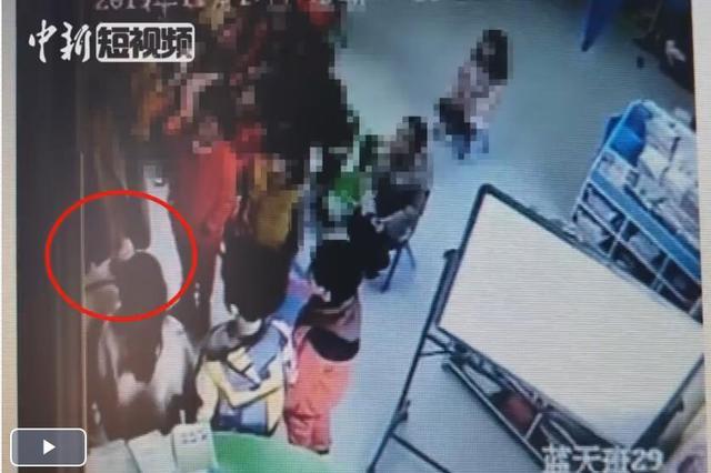 江苏一幼儿园体罚学生排队自扇 涉事老师被责令辞退