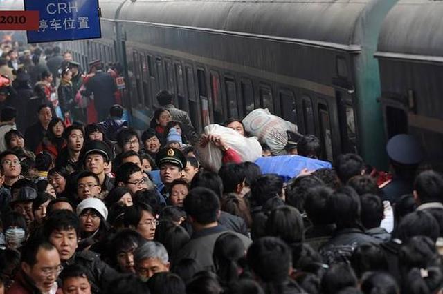 春运火车票12月12日起开抢 长三角全面支持电子客票