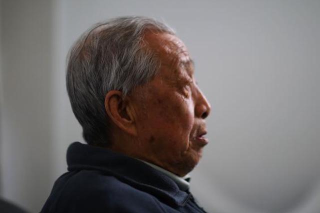 南京大屠杀幸存者陈德寿:战争带来家破人亡