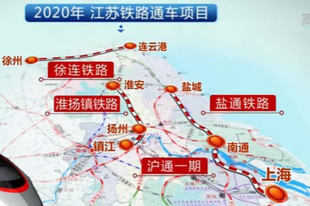 江苏铁路建设投资连创新高 今年新增4条600公里高铁