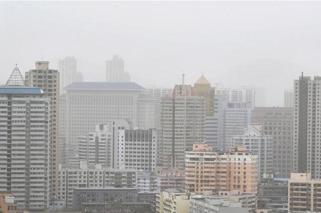 江苏出现今年首次沙尘天气!