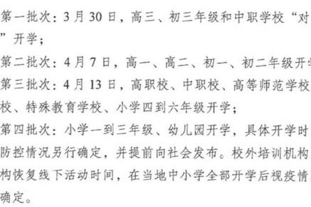 徐州倡导普通高中周末双休改为单休 7月18日放暑假