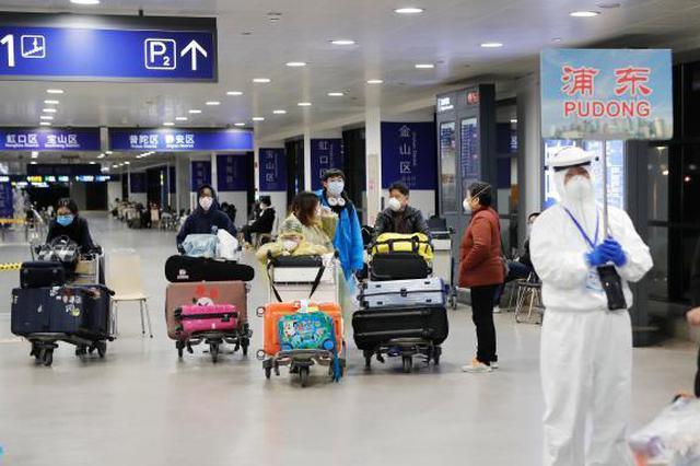 江苏转运1.7万名上海机场入境赴苏人员