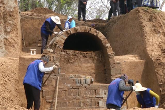 距今约1400年!镇江发现两座六朝时期古墓