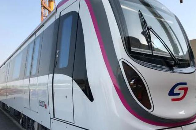 苏州轨交5号线列车来啦!将于明年6月开通运营