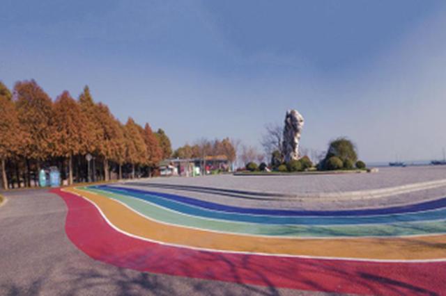 樱花漫道:无锡这条高颜值彩虹步道火了
