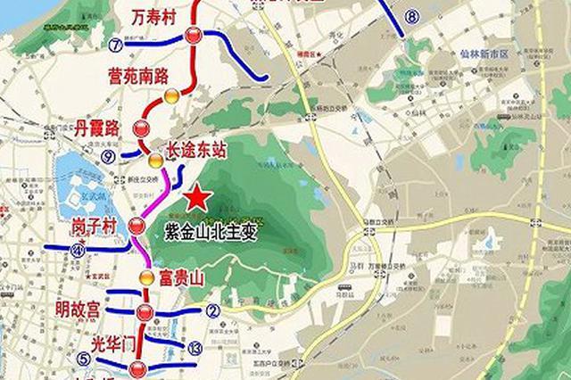 南京地铁18号线首次曝光 起于南京北站终于禄口机场