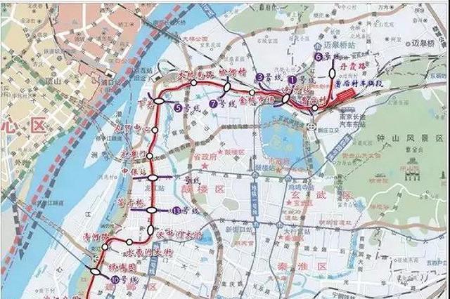 南京地铁6号线开钻第一根桩 计划2023年建成通车