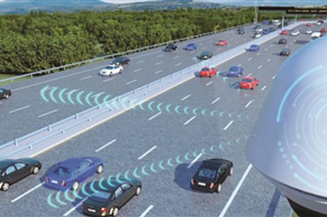 五峰山过江通道打造全国首条未来高速 车辆无线充电