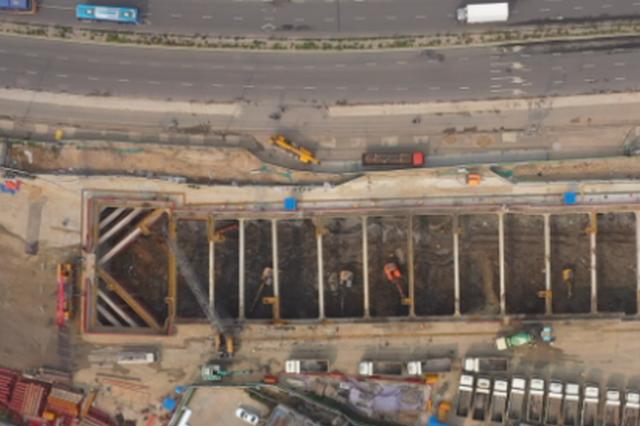 南京地铁1号线北延线又有新进展 预计2022年5月通车