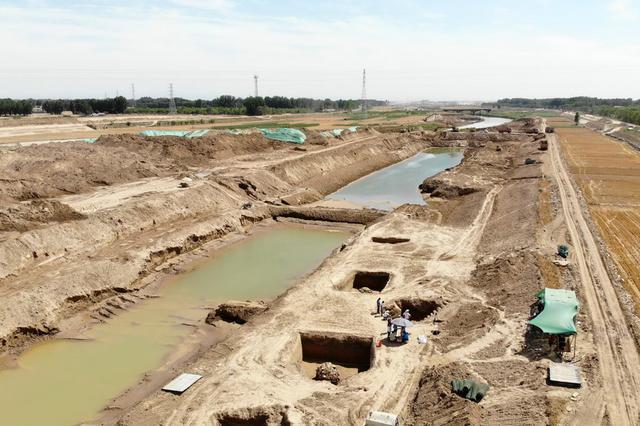 山东小清河沿线发现北朝至唐朝时期家族墓葬群