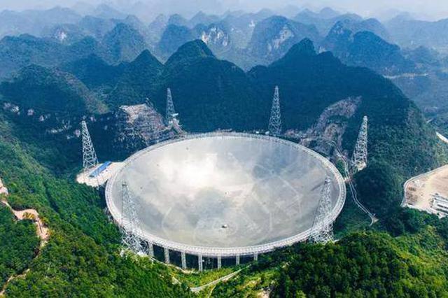 """中国""""天眼""""首次探测到河外星系中性氢发射线"""