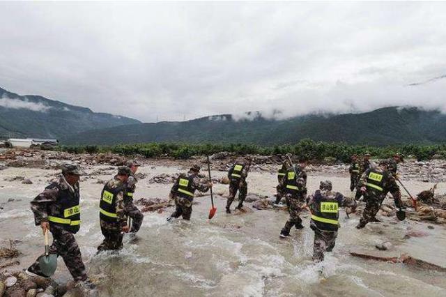 四川冕宁特大暴雨已造成16人遇难 6人失联