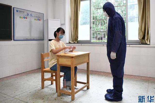 """特别的考场有哪些不一样 考前探访高考""""隔离考室"""""""