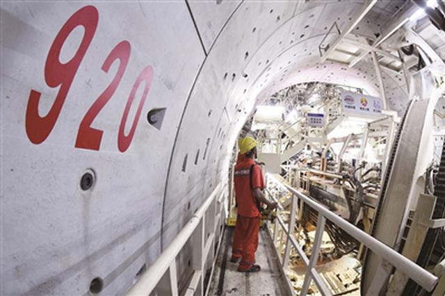 南京和燕路过江隧道取得重大进展 盾构成功穿越江底