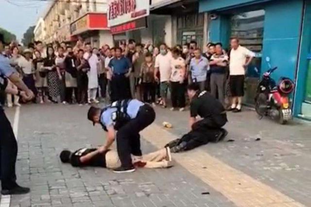 淮安发生重大暴力袭警案 导致一名民警一名辅警牺牲