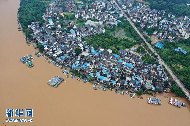 水利部:长江中下游干流及洞庭湖、鄱阳湖、太湖水位继续上涨