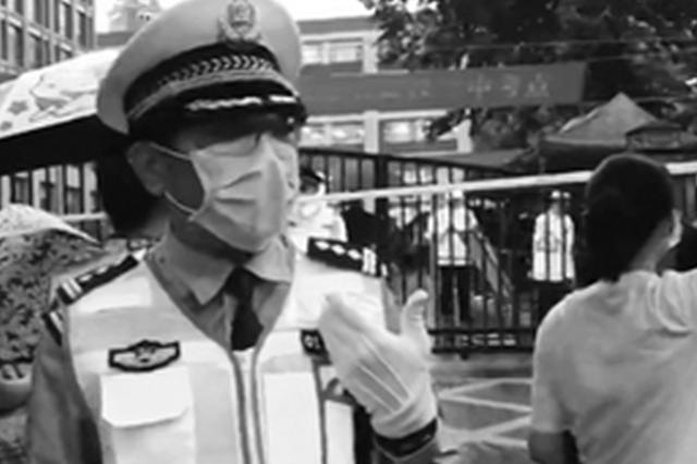 武汉交警护考21年即将退休 把诗词大会开到考场门口